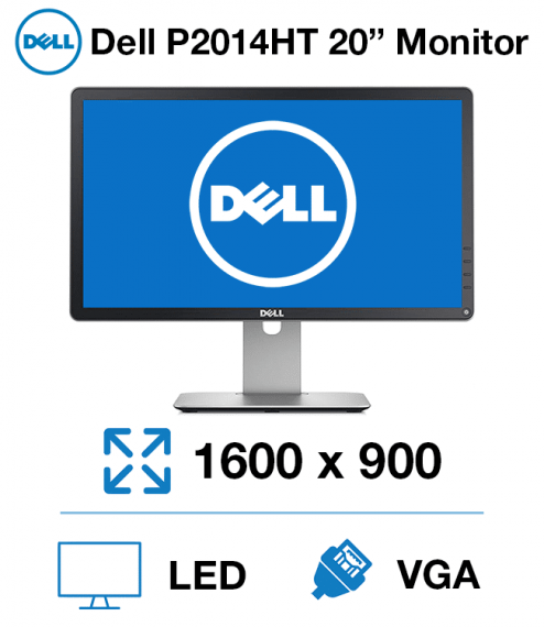 20'' Dell P2014HT Wide LED IPS