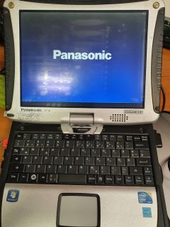 "Panasonic Toughbook Cf-19 10.1""  Touchscreen Intel Core I5 540/4GB/128GB SSD-ЗАБЕЛЕЖКИ КЛАС A-"